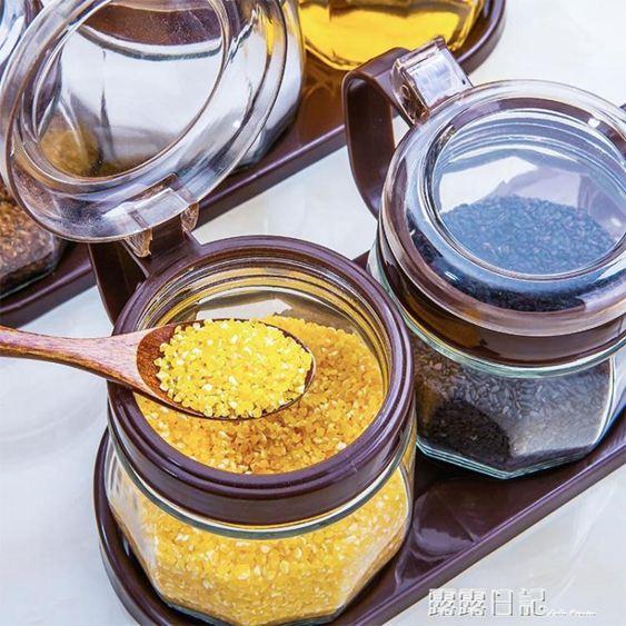 調料盒套裝家用組合裝醬油瓶醋瓶套裝佐料盒鹽罐