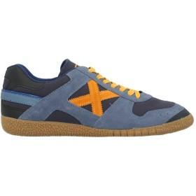 《セール開催中》MUNICH レディース スニーカー&テニスシューズ(ローカット) ブルー 42 紡績繊維 / 革