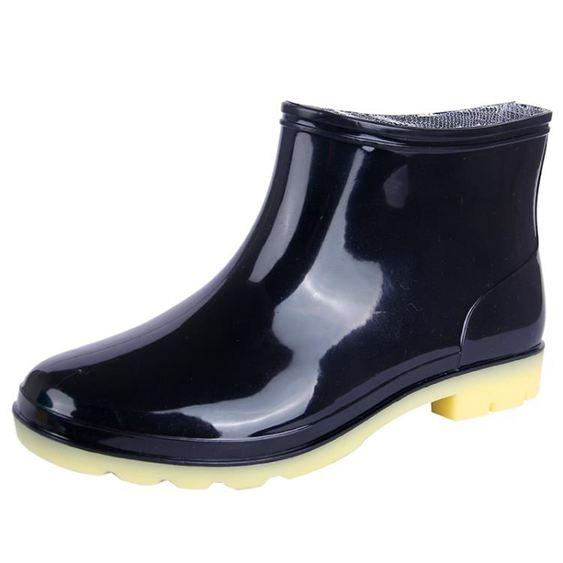 男女雨鞋雨靴短筒半筒防滑水鞋廚房膠鞋半高筒水靴矮筒廚師洗車鞋