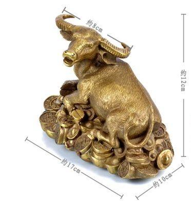開光銅牛擺設