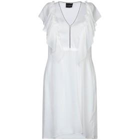 《セール開催中》ATOS LOMBARDINI レディース ミニワンピース&ドレス ホワイト 38 レーヨン 100% / ポリエステル