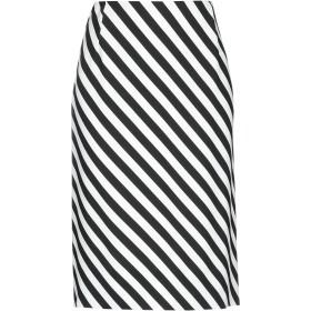 《セール開催中》DRIES VAN NOTEN レディース 7分丈スカート ブラック 38 レーヨン 96% / ポリウレタン 4%