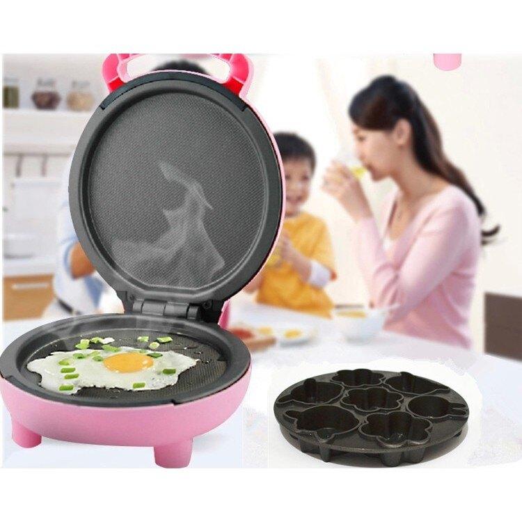 家用煎烤機煎餅蛋糕機雙面加熱懸浮烙餅鍋早餐機正品 WE1761