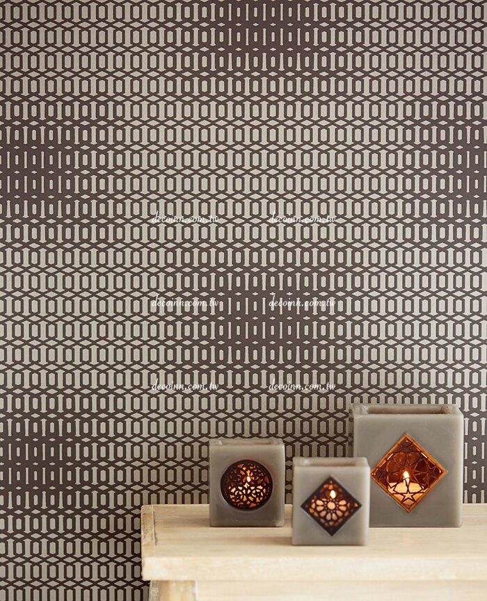 F11Y-3420/61~65 荷蘭期貨壁紙 簡約幾何線條 光影變化(5色)