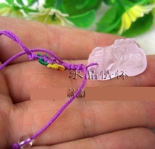 紫水晶腳丫手機鏈紫晶腳丫手機鏈特價