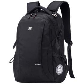 ビジネスリュックメンズ ビジネス ラップトップバック 大容量 防水 旅行&ビジネスバッグ 黑色