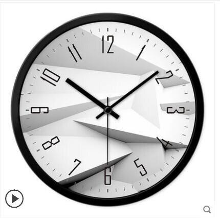 掛鐘客廳創意現代時鐘石英鐘表掛表臥室靜音個性大號壁鐘