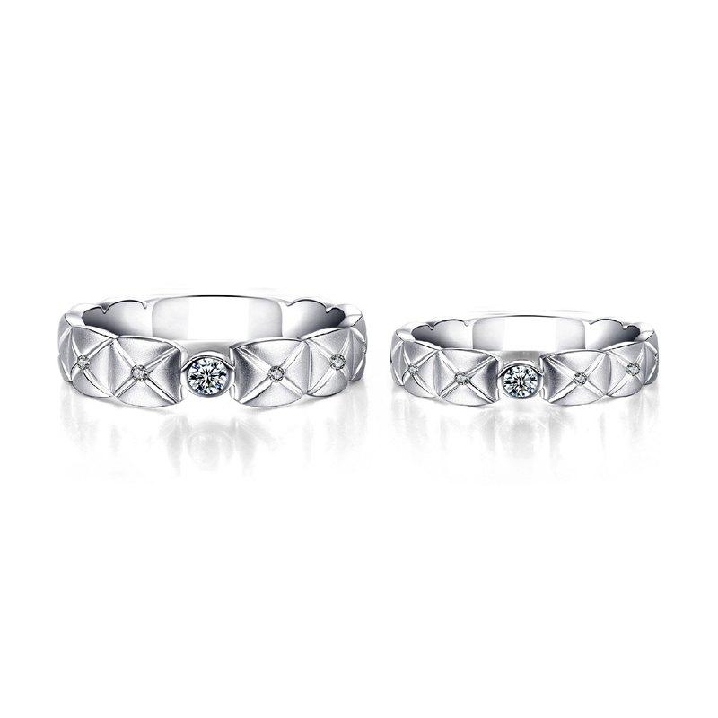 典藏幸福 鑽石求婚.結婚對戒(戒圍加大不加價)(可單買洽設計師)