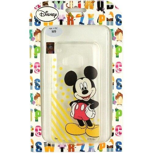 【Disney】HTC ONE M9  微笑系列彩繪透明保護軟套