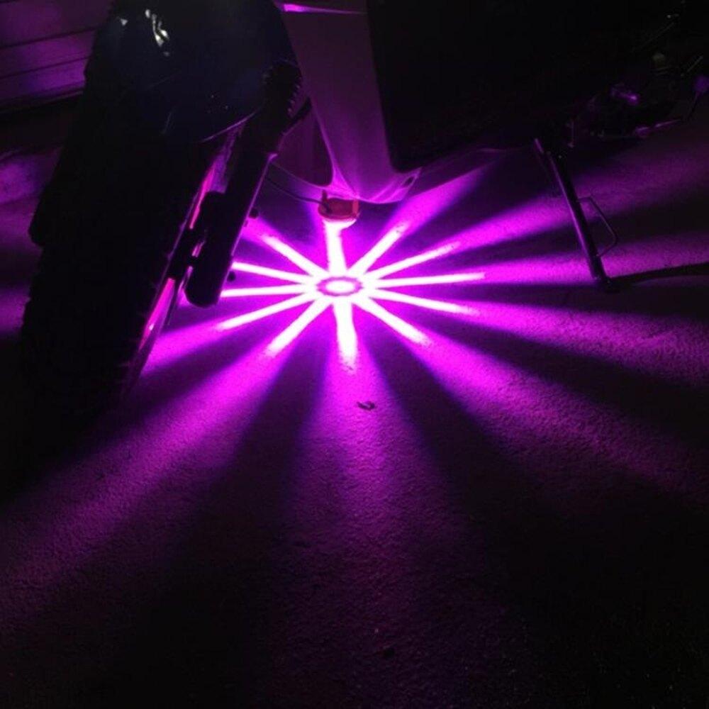 汽車底盤燈led燈防水鬼火底盤燈爆閃摩托車裝飾燈電動車裝飾燈 尾牙年會禮物