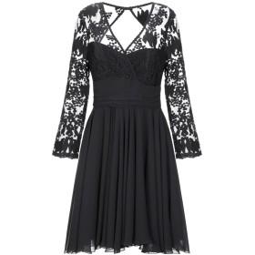 《セール開催中》HH COUTURE レディース ミニワンピース&ドレス ブラック XS ポリエステル 100%