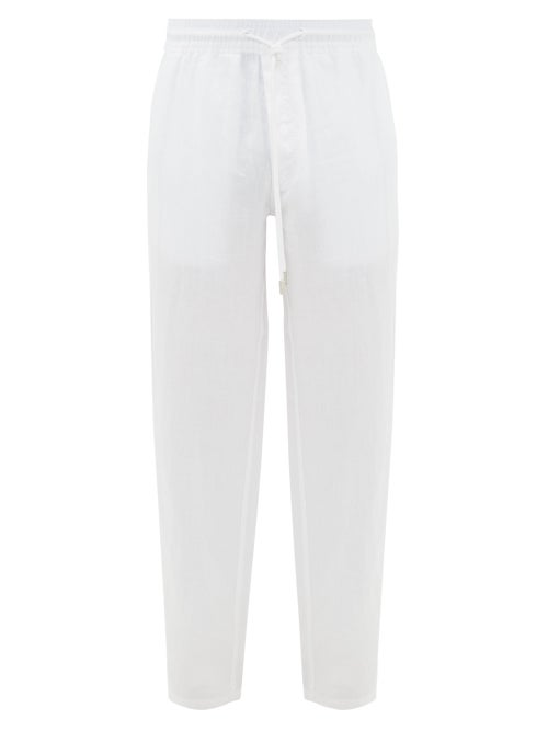 Vilebrequin - Relaxed Linen Trousers - Mens - White