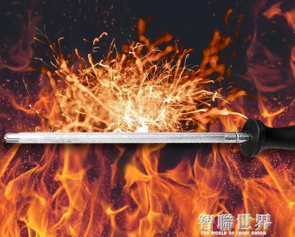 細紋屠宰快速磨菜刀神器磨刀石專業廚房家用刀棍磨刀棒磨刀器 新春鉅惠