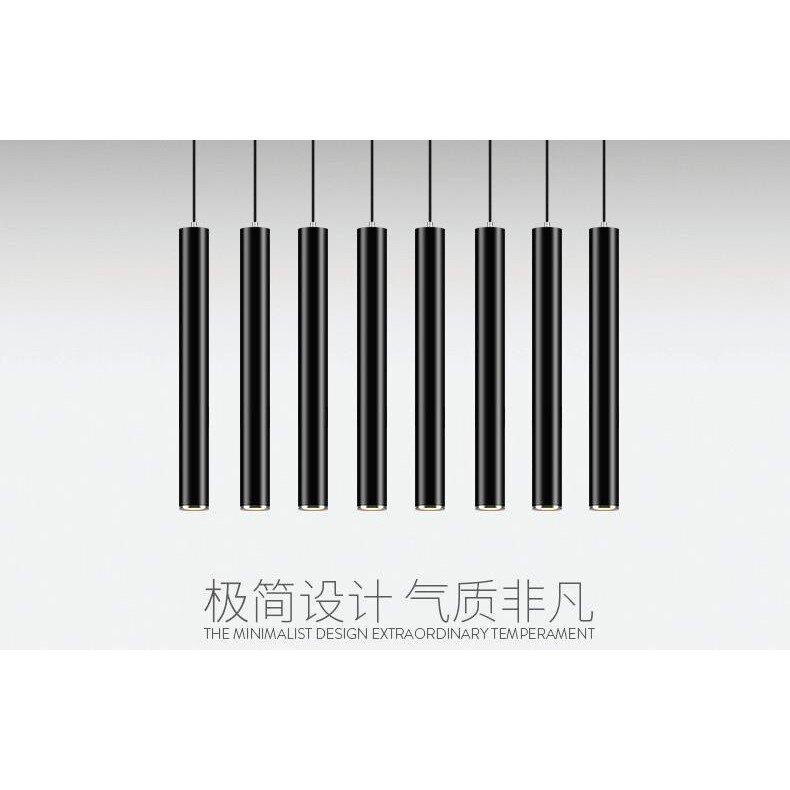 簡約現代臥室客廳圓柱長筒個性創意藝術吊燈xx5416 TW