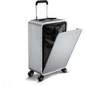 アルミ スーツケース スーパーライト 軽量 大型 抗菌ハンドル マグネシウムフレーム ビジネス 機内持ち込み TSAロック アルミ合金 静音 超軽量 40L 56CM36CM20CMスーツケース 機内持込