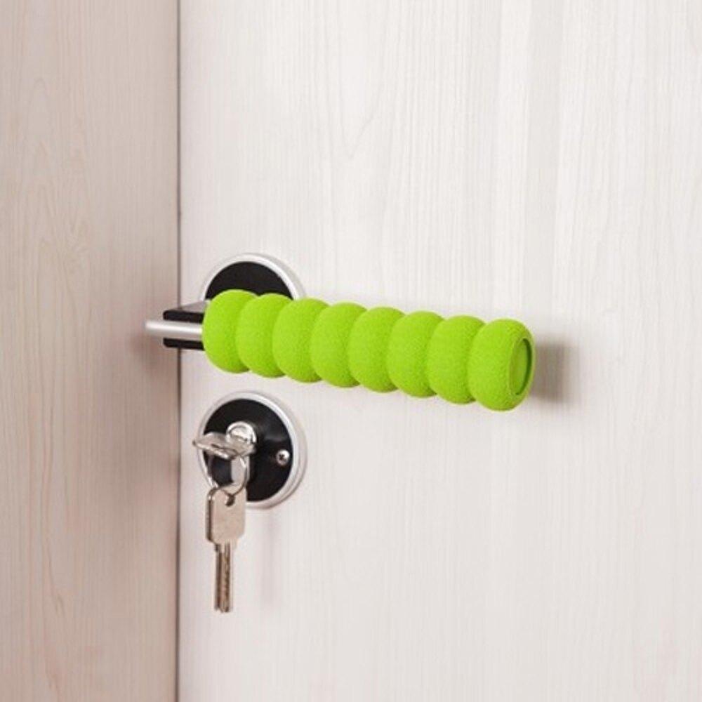 ✤宜家✤居家房門防撞門把套 加厚螺旋手把保護套 防護套