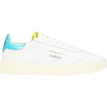 《セール開催中》GHUD Venice レディース スニーカー&テニスシューズ(ローカット) ホワイト 37 革 / 紡績繊維