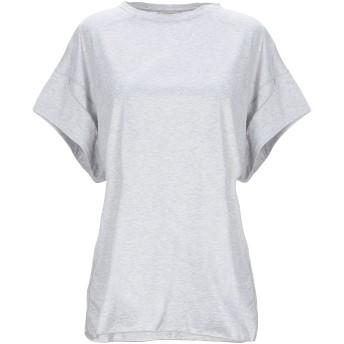 《セール開催中》BALLANTYNE レディース T シャツ ライトグレー 38 コットン 100%