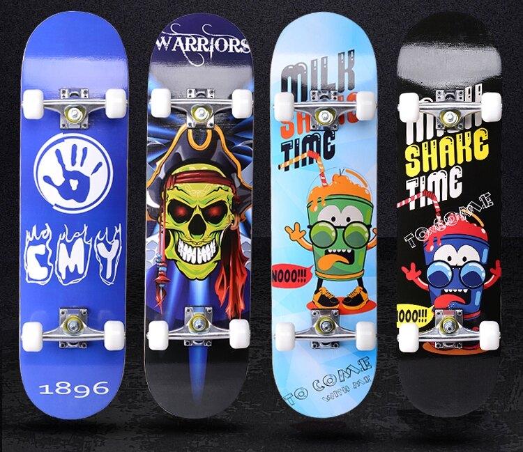 滑板車 四輪夜光初學者成人兒童青少年玩具男女生4輪雙翹專業滑板車 領券下定更優惠