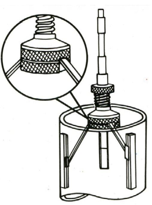 *韋恩工具* AOK 剎車三爪內徑研磨器 /煞車三爪內徑研磨器 備用磨石 VI-WS-1974