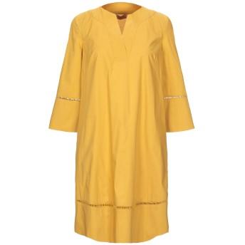 《セール開催中》TWINSET レディース ミニワンピース&ドレス オークル 38 コットン 96% / ポリウレタン 4%