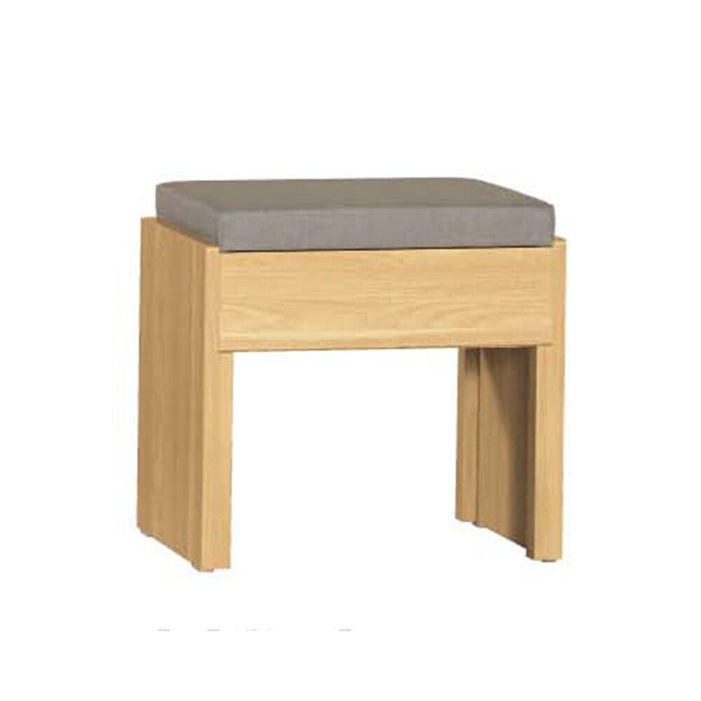 費德勒化妝椅(皮面)/H&D東稻家居-消費滿3千送點數10%