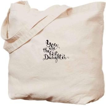 娘引用手描きレタリング書道モノクロへの愛と崇拝キャンバス手作りハンドバッグ、ギフトバッグ、ランチバッグ、ビーチ、本、ショッピング、13x16インチ