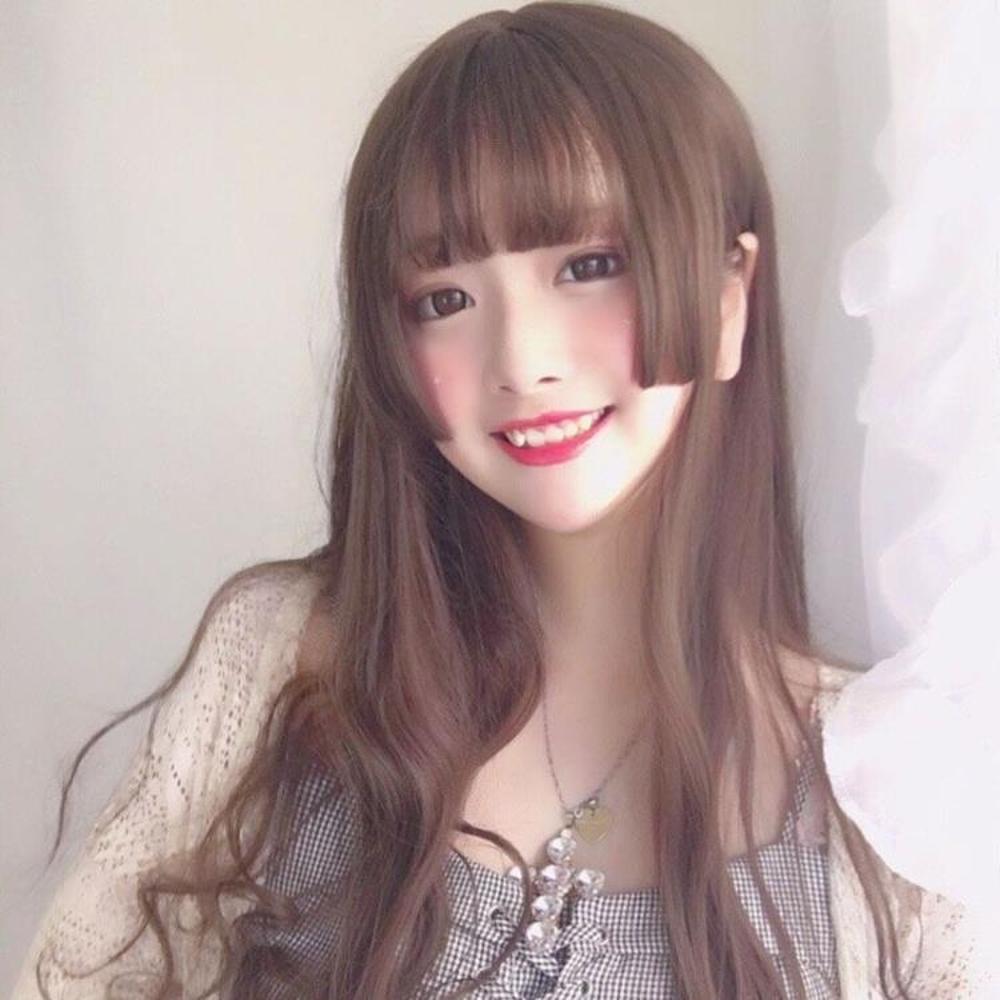 lolita公主切水母頭男女cos假發長直發偽娘變裝