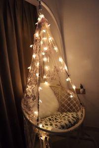吊椅 INS北歐網紅抖音流蘇秋千吊椅吊籃搖籃椅 室內家用陽臺兒童房裝飾 ATF