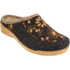 [タウス] レディース サンダル Woolderness 2 Embroidered Wool Slip [並行輸入品]