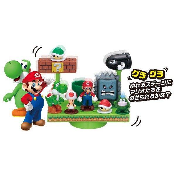 【Fun心玩】EP07270 麗嬰 日本 EPOCH Mario 超級瑪莉 馬力歐 瑪莉歐平衡遊戲 桌遊 生日 禮物