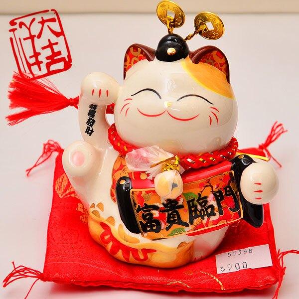 【好運連年】福氣招財貓存錢筒 53368