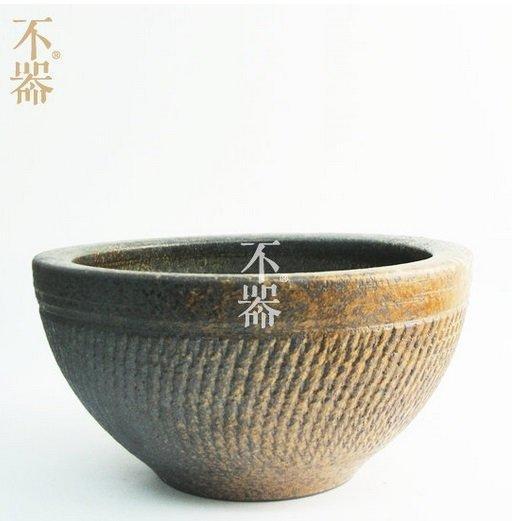 【不器】日式茶具 手工粗陶茶洗水洗.沉默如謎的呼吸