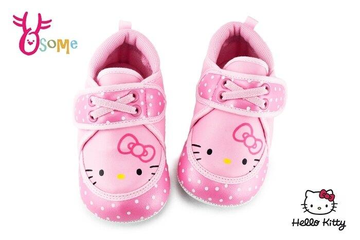 Hello kitty童鞋 學步鞋 嬰兒鞋 寶寶鞋 軟底學走路 凱蒂貓 零碼出清 G7997#粉紅 奧森