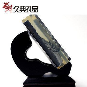 兵馬俑雕刻 水晶浮雕 書房辦公室擺件工藝品領導老師商務禮品新品