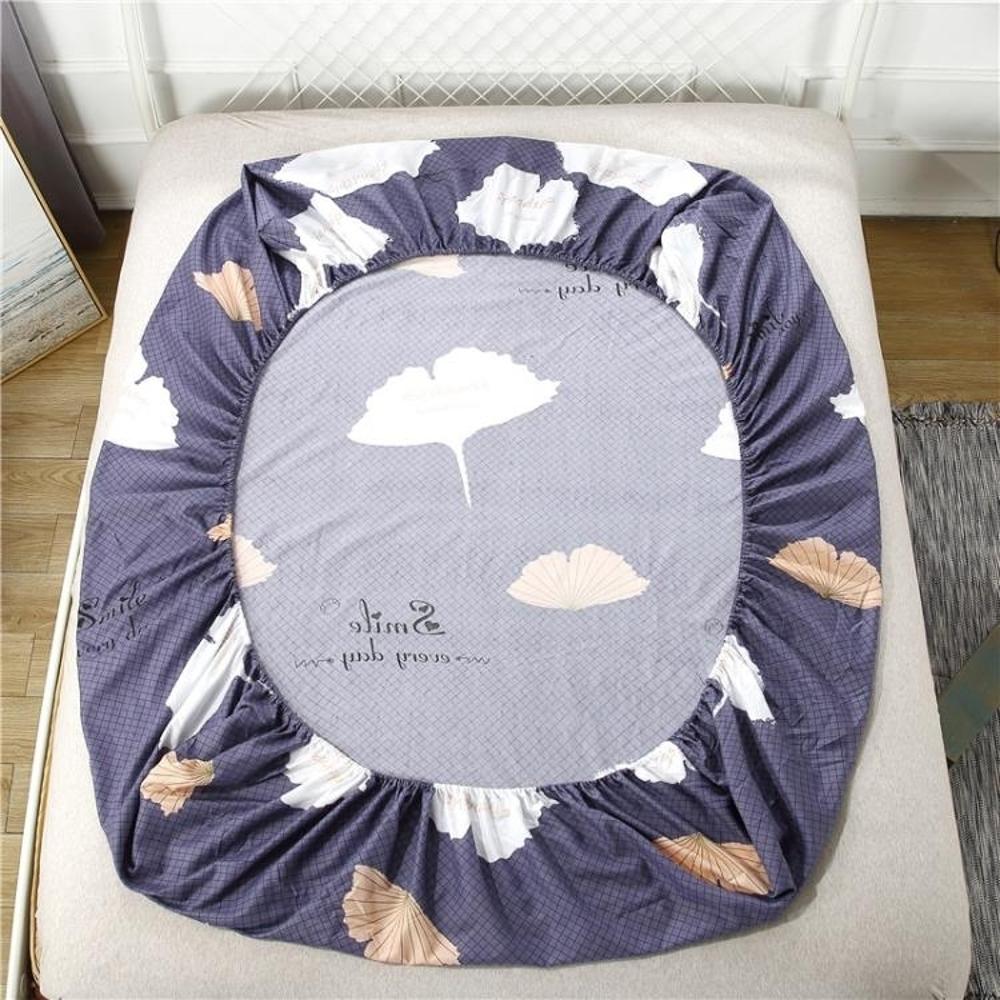 床罩 床笠席夢思保護套床罩床裙薄棕墊床墊套單件防滑床套床單 BBJH