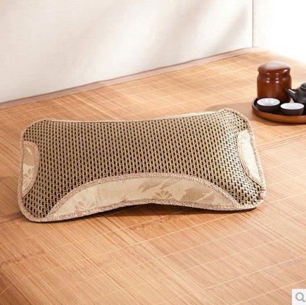 冬暖夏涼 護頸生態花草枕芯助睡眠茶葉枕頭