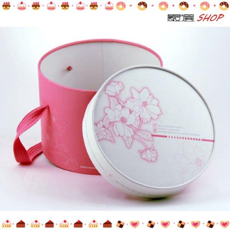 【嚴選SHOP】拜年 圓筒盒 糖果盒 餅乾盒 蛋糕盒 禮盒 紙袋 手提袋 布丁 奶酪 年節 【C091】