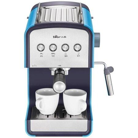 咖啡機 Bear/小熊 KFJ-A13H1咖啡機家用全自動 高壓蒸汽式打奶泡煮咖啡壺 MKS 小宅女 清涼一夏钜惠