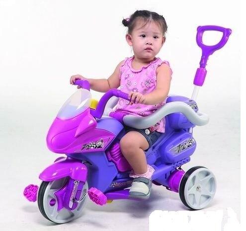 【CHING-CHING親親】重型機車全有三輪車(紫色)(TR-09A P46)【紫貝殼】