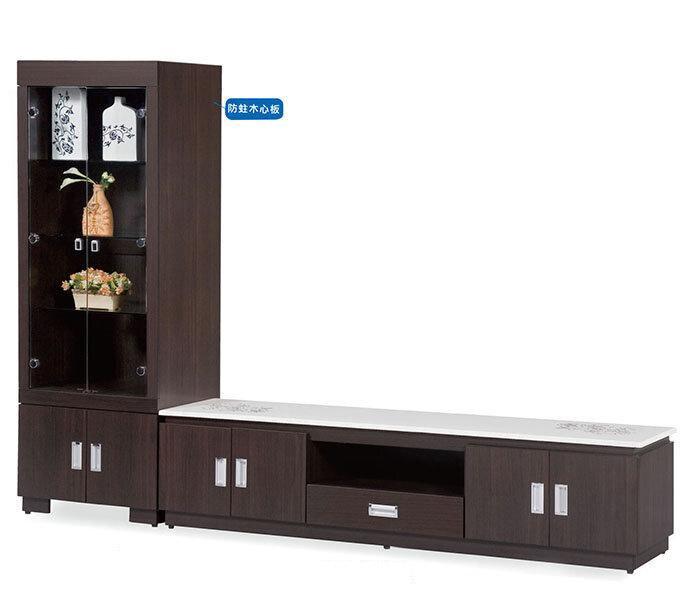 【尚品家具】JJ-5004  美蘭8尺L櫃