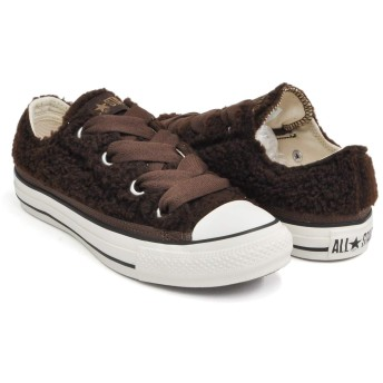 [コンバース] ALL STAR BIGEYELETS BOASLIP OX BROWN (5SC207) 31301070 24.5(5H) US