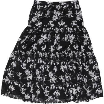 《セール開催中》MICHAEL MICHAEL KORS レディース 7分丈スカート ブラック XS ポリエステル 100%