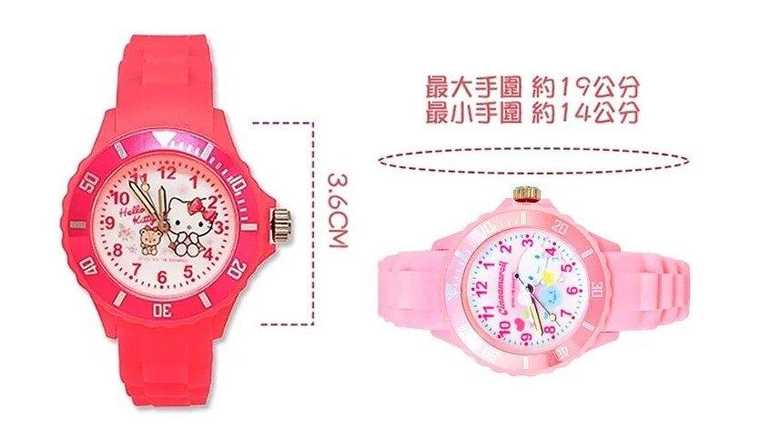 【兒童運動彩帶卡通錶】【美樂蒂】【台灣製造正版授權】【保固一年】5-12歲 兒童手錶 S7-1022M