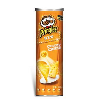 品客洋芋片-香濃起司口味110g/罐*3罐 【合迷雅好物商城】