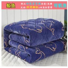 水洗薄床墊床褥1.8m床雙人褥子單人床學生寢室法蘭絨墊被