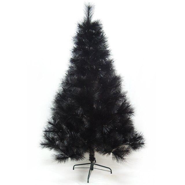 【摩達客】台灣製15尺/15呎(450cm)特級黑色松針葉聖誕樹裸樹 (不含飾品)(不含燈)YS-NBPT15005