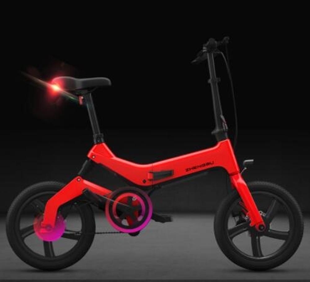 電動車  16寸新款折疊電動自行車 鋰電池助力電瓶車男女式小型電動車 MKS韓菲兒 聖誕節禮物