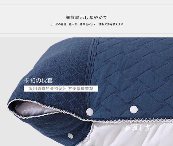 卡帝縵枕巾純棉一對高檔歐式紗布全棉枕頭巾成人情侶夏季通用