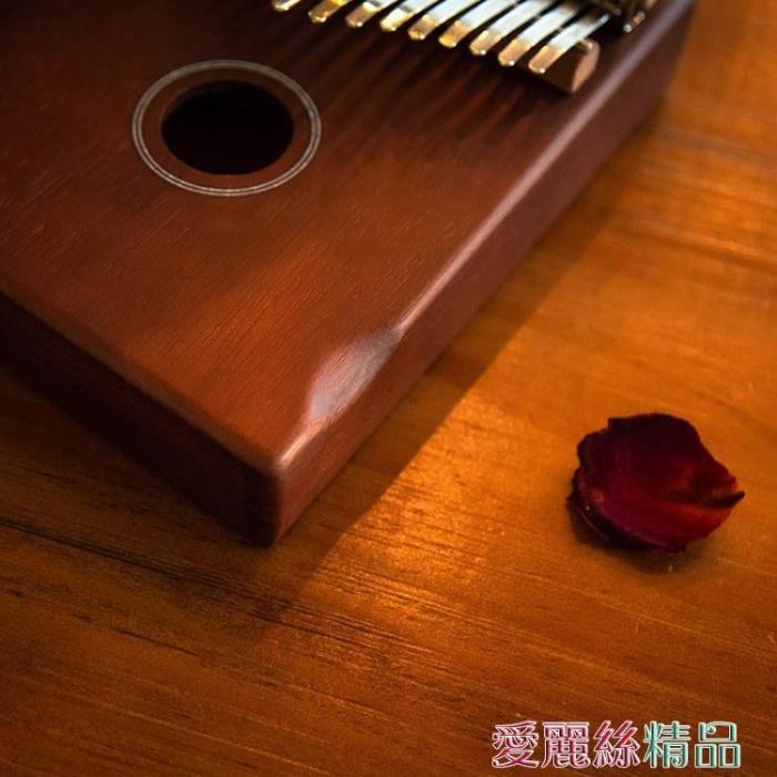 拇指琴 單板17音拇指琴kalimba桃花心初學者男女姆指琴便攜式卡林巴琴